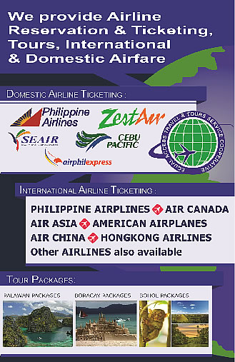 Airline Ticketing and Tour Packages